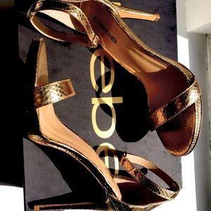 BEBE high heels.